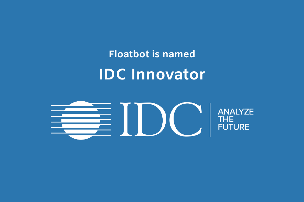 Floatbot named as IDC Innovator