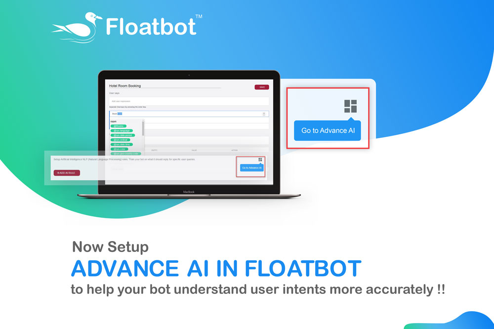 setup advance AI in floatbot